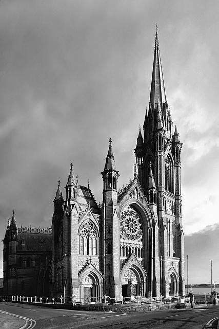 Cobh Cathedral in Mono