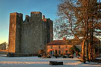 Barryscourt Castle in Winter